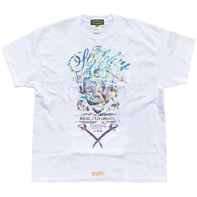 STYLEKEY CLASSIC LABEL スタイルキー クラシック・レーベル 半袖Tシャツ KILLEMB S/S TEE(SK99CL-SS04) ストリート ヒップホップ レゲエ 箔 B系 大きいサイズ b-bros 08