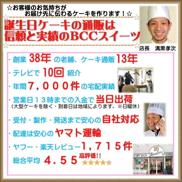 6 誕生日ケーキ宅配 BCCスイーツ バースデーケーキ通販