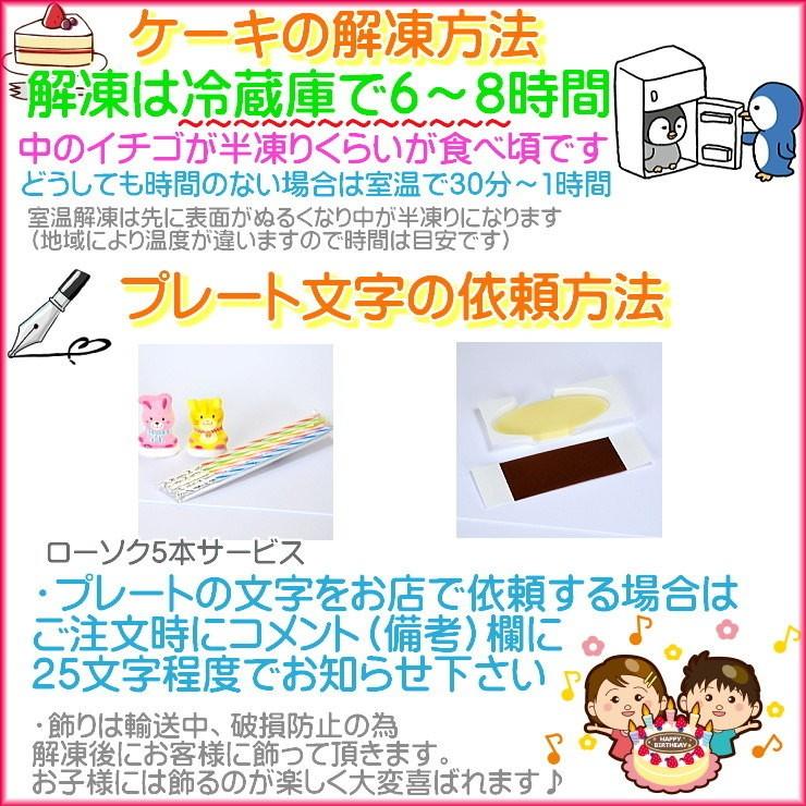 5 名入れケーキ 注文方法 バースデーケーキ配達 ケーキ配達