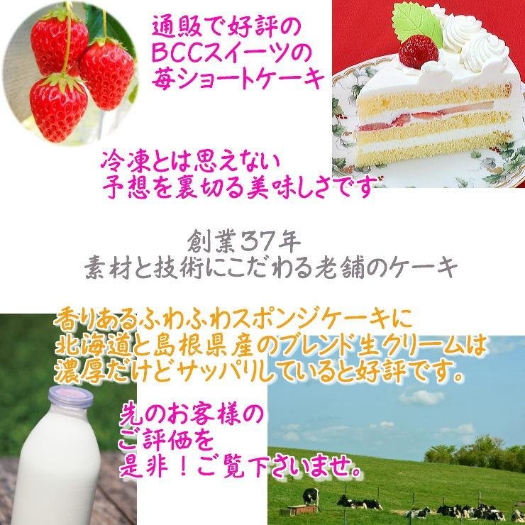 3 バースデーケーキ通販 苺のショートケーキデコレーション
