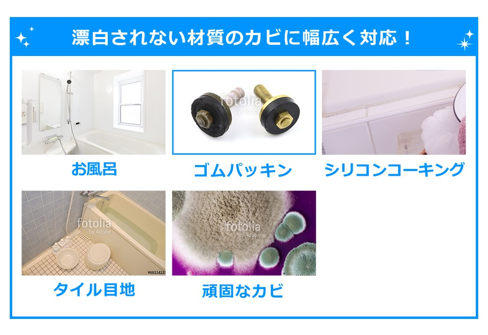 カビ取り,カビ除去,カビ除去剤,カビジェル剤,目地のカビ