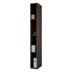 本棚 書棚 シンプルデザインがスタイリッシュな20幅スリムタイプの壁面収納  おしゃれ 家具 日本製|b-room|12