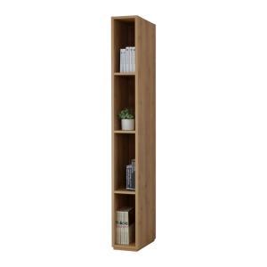 本棚 書棚 シンプルデザインがスタイリッシュな20幅スリムタイプの壁面収納  おしゃれ 家具 日本製|b-room|11