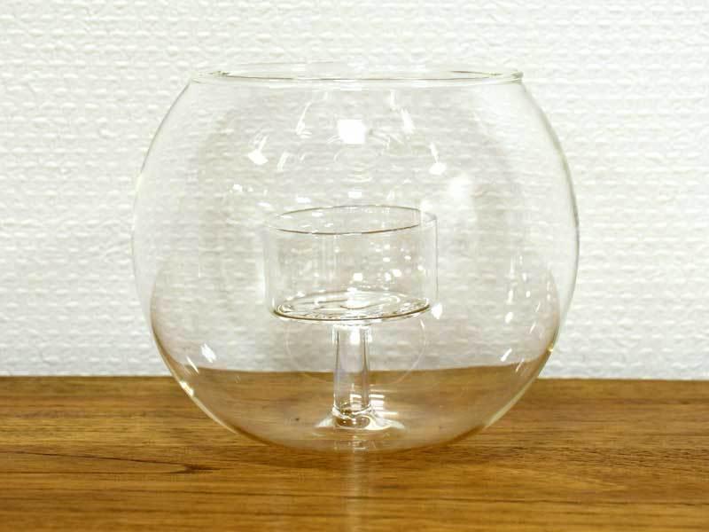 ガラスキャンドルホルダー M ボール