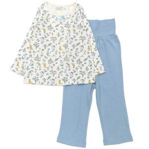 BABBLE BOON(バブルブーン)お花と森の仲間たちパジャマ(長袖) (80〜130cm)  女の子 80 90 95 100 110 120 130 キムラタン 子供服 本体綿100%|ベビー・子供服のキムラタン