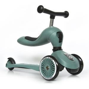 Scoot & Ride(スクートアンドライド) ハイウェイキック1 フォレスト アッシュ ローズ スチール|三輪車 キックスクーター あすつく|baby-smile|15
