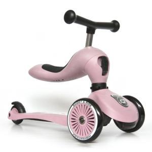 Scoot & Ride(スクートアンドライド) ハイウェイキック1 フォレスト アッシュ ローズ スチール|三輪車 キックスクーター あすつく|baby-smile|17