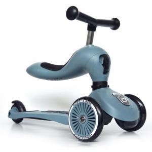 Scoot & Ride(スクートアンドライド) ハイウェイキック1 フォレスト アッシュ ローズ スチール|三輪車 キックスクーター あすつく|baby-smile|18