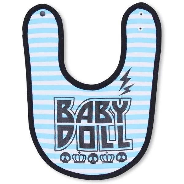 ベビードール BABYDOLL 子供服 リバーシブルスタイ よだれかけ (ROCK)-雑貨 ベビーサイズ-7333|babydoll-y|07
