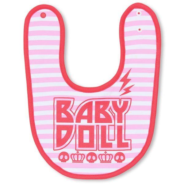 ベビードール BABYDOLL 子供服 リバーシブルスタイ よだれかけ (ROCK)-雑貨 ベビーサイズ-7333|babydoll-y|08