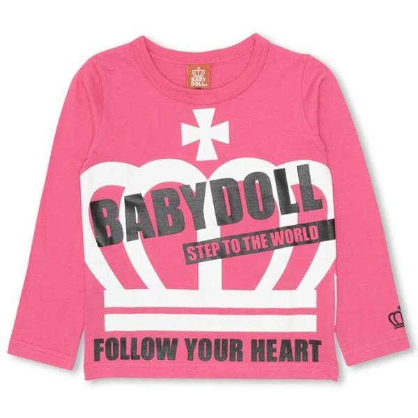 50%OFF SALE ベビードール BABYDOLL 子供服 BIG王冠ロンT キッズ-9474K|babydoll-y|13