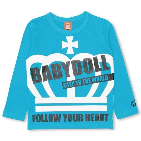 50%OFF SALE ベビードール BABYDOLL 子供服 BIG王冠ロンT キッズ-9474K|babydoll-y|14