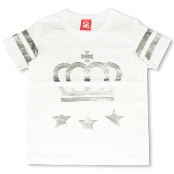 50%OFF SALE ベビードール BABYDOLL 子供服 親子ペア 袖ラインTシャツ 春 夏 ベビーサイズ キッズ-9629K(150cmあり)|babydoll-y|07