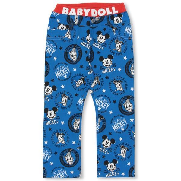 50%OFF SALE ベビードール BABYDOLL 子供服 ディズニー ロングパンツ キャラクター総柄 ベビーサイズ キッズ DISNEY-0009K|babydoll-y|07