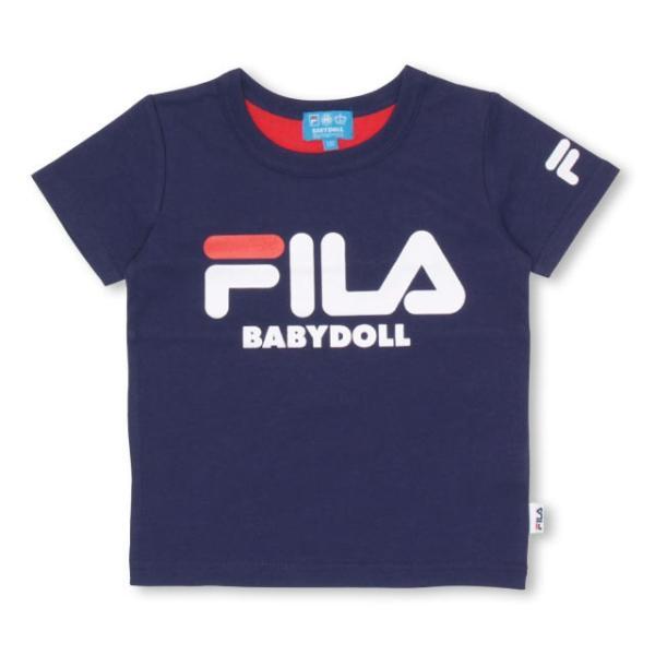 30%OFF SALE ベビードール BABYDOLL 子供服 ドラえもん FILA バックキャラ Tシャツ 男の子 女の子 ベビーサイズ キッズ-1205K|babydoll-y|11