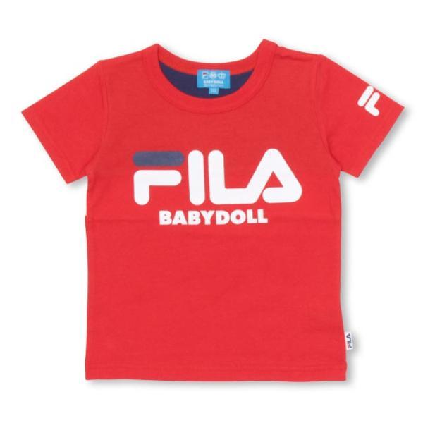 30%OFF SALE ベビードール BABYDOLL 子供服 ドラえもん FILA バックキャラ Tシャツ 男の子 女の子 ベビーサイズ キッズ-1205K|babydoll-y|12