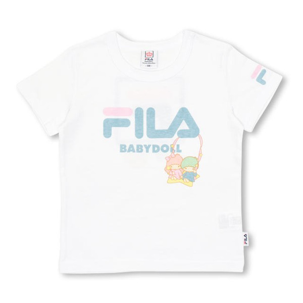 30%OFF SALE ベビードール BABYDOLL 子供服 サンリオ FILA キキララ Tシャツ 女の子 ベビーサイズ キッズ-1216K|babydoll-y|09