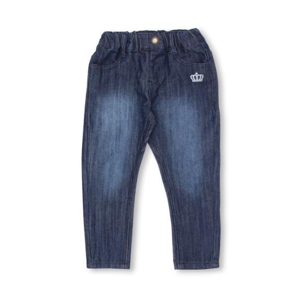 ベビードール BABYDOLL 子供服 プチプラ シンプル デニム ロングパンツ 1597K ベビーサイズ キッズ 男の子 女の子 babydoll-y 14