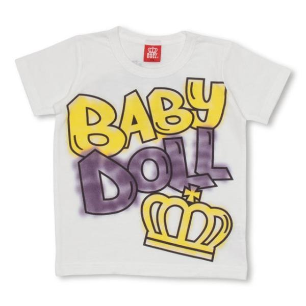 50%OFF SALE ベビードール BABYDOLL 子供服 ラクガキ スプレー Tシャツ 1931K キッズ 男の子 女の子 babydoll-y 08