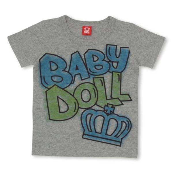 50%OFF SALE ベビードール BABYDOLL 子供服 ラクガキ スプレー Tシャツ 1931K キッズ 男の子 女の子 babydoll-y 09