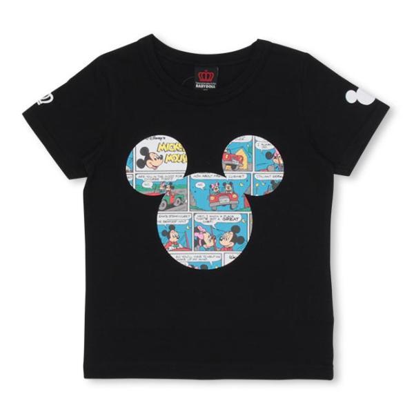 50%OFF SALE ベビードール BABYDOLL 子供服 親子お揃い ディズニー コミック柄 Tシャツ 1981K キッズ 男の子 女の子 DISNEY|babydoll-y|08