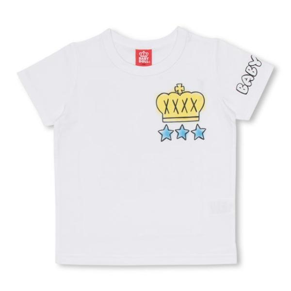 50%OFF SALE ベビードール BABYDOLL 子供服 ラクガキスプレー Tシャツ 2146K キッズ 男の子 女の子|babydoll-y|09