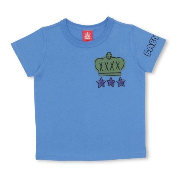 50%OFF SALE ベビードール BABYDOLL 子供服 ラクガキスプレー Tシャツ 2146K キッズ 男の子 女の子|babydoll-y|10