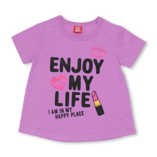 50%OFF SALE ベビードール BABYDOLL 子供服 リップメッセージ Tシャツ 2247K キッズ 女の子|babydoll-y|09