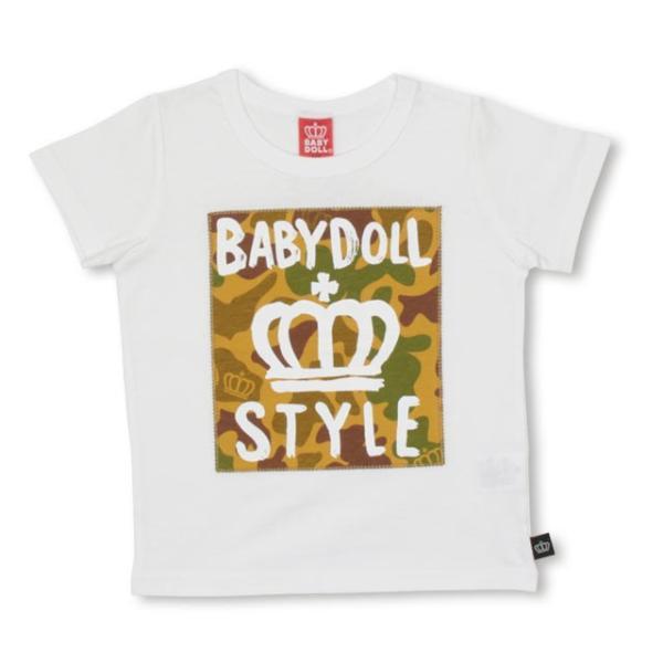 10/23まで60%OFF!SALE ベビードール BABYDOLL 子供服 親子お揃い 総柄 貼付 Tシャツ 2253K(ボトム別売) キッズ 男の子 女の子|babydoll-y|08