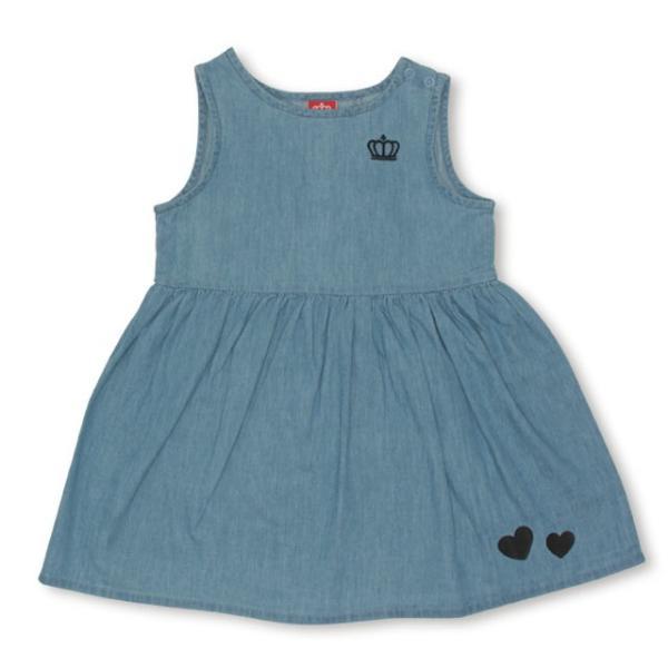 50%OFF SALE ベビードール BABYDOLL 子供服 リボン付き デニム ワンピース 2267K キッズ 女の子|babydoll-y|08