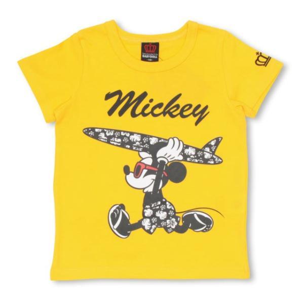 ベビードール BABYDOLL 子供服 親子お揃い ディズニー サーフ Tシャツ 2281K ベビーサイズ キッズ 男の子 女の子 DISNEY|babydoll-y|13