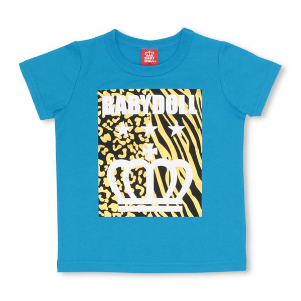 50%OFF SALE ベビードール BABYDOLL 子供服 親子お揃い アニマル柄 Tシャツ 2296K キッズ 男の子 女の子|babydoll-y|10