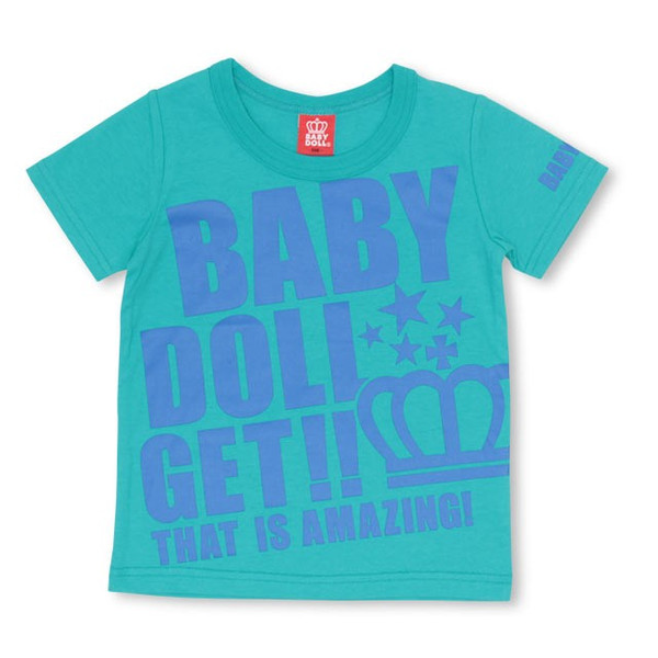 50%OFF SALE ベビードール BABYDOLL 子供服 ロゴ メッセージ Tシャツ 2393K キッズ 男の子 女の子|babydoll-y|08