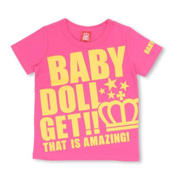 50%OFF SALE ベビードール BABYDOLL 子供服 ロゴ メッセージ Tシャツ 2393K キッズ 男の子 女の子|babydoll-y|09
