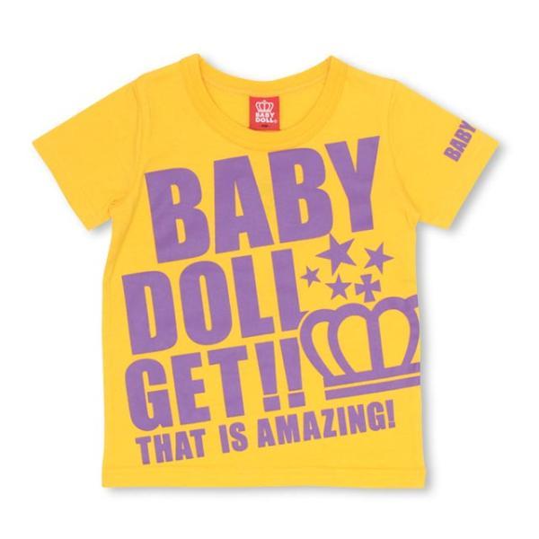 50%OFF SALE ベビードール BABYDOLL 子供服 ロゴ メッセージ Tシャツ 2393K キッズ 男の子 女の子|babydoll-y|10