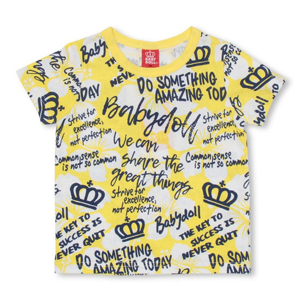 50%OFF SALE ベビードール BABYDOLL 子供服 ラクガキ 総柄 Tシャツ 2459K キッズ 男の子 女の子|babydoll-y|09