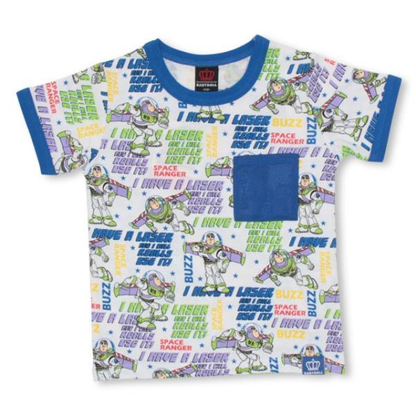 30%OFF SALE ベビードール BABYDOLL 子供服 ディズニー メッシュポケット Tシャツ 2478K キッズ 男の子 女の子 DISNEY|babydoll-y|08