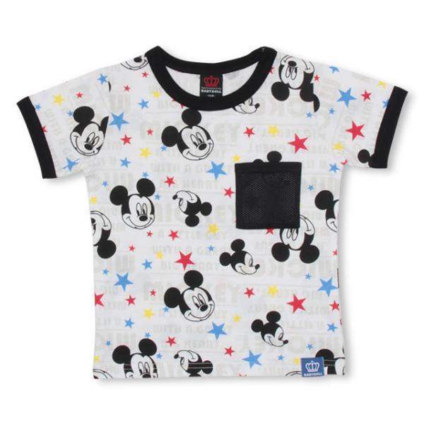 30%OFF SALE ベビードール BABYDOLL 子供服 ディズニー メッシュポケット Tシャツ 2478K キッズ 男の子 女の子 DISNEY|babydoll-y|09
