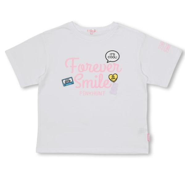 30%OFF SALE ベビードール BABYDOLL 子供服 PINKHUNT PH モチーフ Tシャツ 2502K キッズ ジュニア 女の子|babydoll-y|08