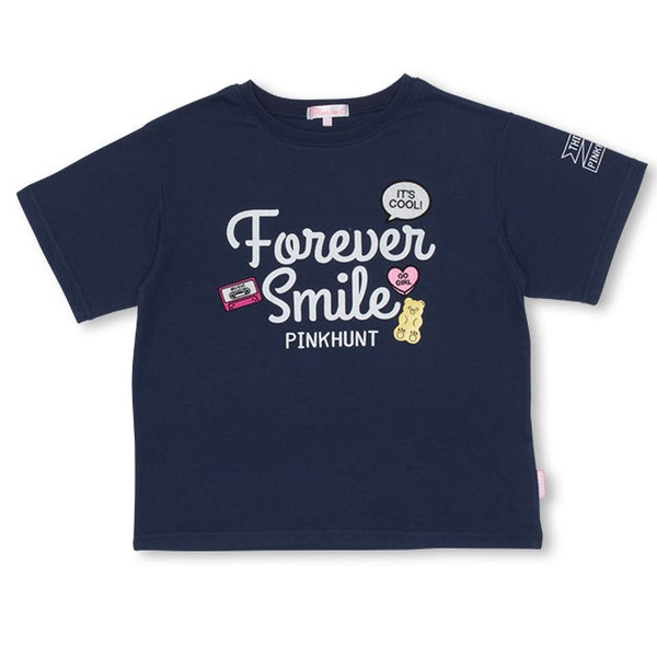 30%OFF SALE ベビードール BABYDOLL 子供服 PINKHUNT PH モチーフ Tシャツ 2502K キッズ ジュニア 女の子|babydoll-y|09