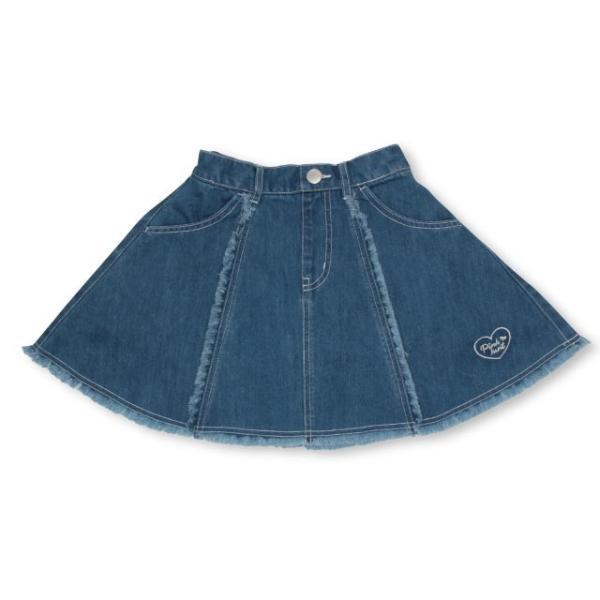 30%OFF SALE ベビードール BABYDOLL 子供服 PINKHUNT PH デニムフレア スカート 2512K キッズ ジュニア 女の子|babydoll-y|08