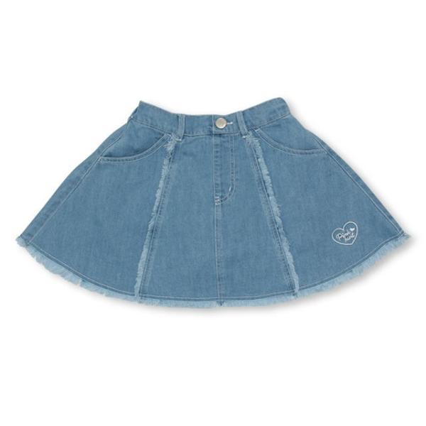 30%OFF SALE ベビードール BABYDOLL 子供服 PINKHUNT PH デニムフレア スカート 2512K キッズ ジュニア 女の子|babydoll-y|09