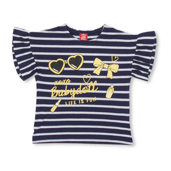 8/26まで60%OFF!限定SALE ベビードール BABYDOLL 子供服 ガーリー モチーフ Tシャツ 2586K キッズ 女の子|babydoll-y|10