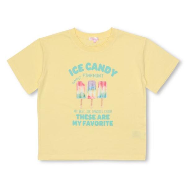 7/22まで30%OFFからさらに20%OFF!SALE ベビードール BABYDOLL 子供服 PINKHUNT PH アイス 転写 Tシャツ 2613K キッズ ジュニア 女の子|babydoll-y|10