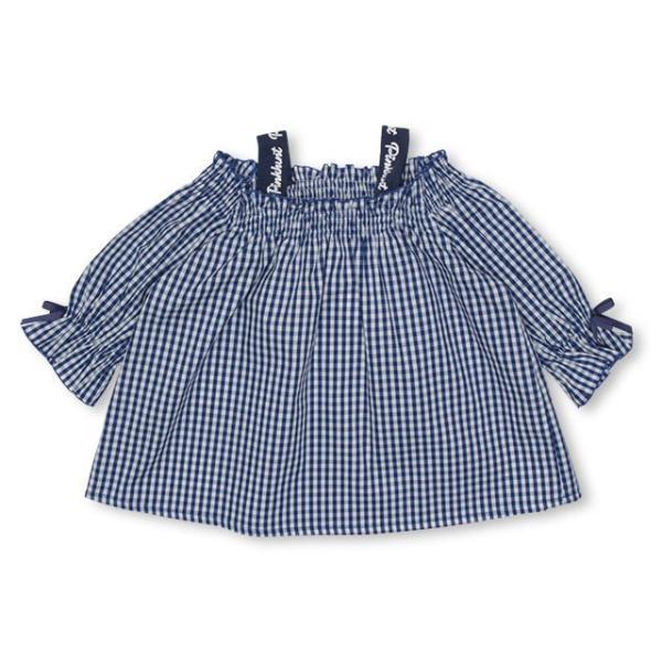 30%OFF SALE ベビードール BABYDOLL 子供服 PINKHUNT PH ギンガム チュニック Tシャツ 3142K (ボトム別売) キッズ ジュニア 女の子|babydoll-y|09