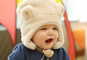 ベビー帽子 防寒