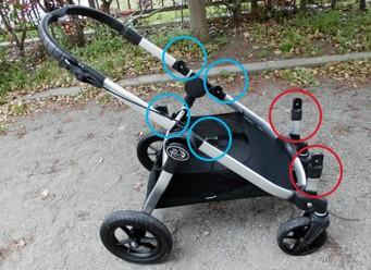 """babyjogger(ベビージョガー)cityselect(シティセレクト)18通りの乗り方ができる!縦型二人乗りベビーカー"""">"""
