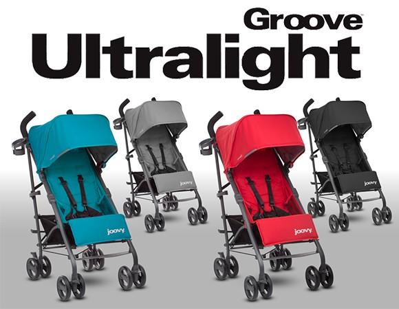 ジュービー グルーブ ウルトラライト 2017 新生児から25キロまで対応の軽量コンパクトベビーカー