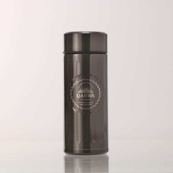 ステンレスボトル おしゃれ 420ml カフア QAHWA マグボトル テフロン加工 COFFEE こぼれない 定番 エンボスデザイン おしゃれ 保冷 保温 直飲み 飲み口|backyard-1|15