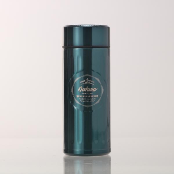 ステンレスボトル おしゃれ 420ml カフア QAHWA マグボトル テフロン加工 COFFEE こぼれない 定番 エンボスデザイン おしゃれ 保冷 保温 直飲み 飲み口|backyard-1|16